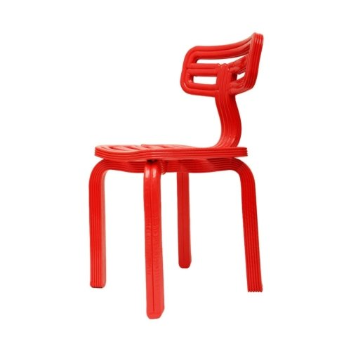 Dirk Vander Kooij - Chubby Chair - Red