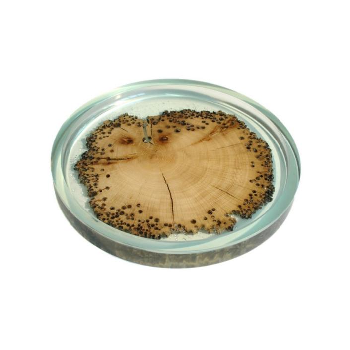 Alcarol - Burano Plate Ø 32 Aquamarine