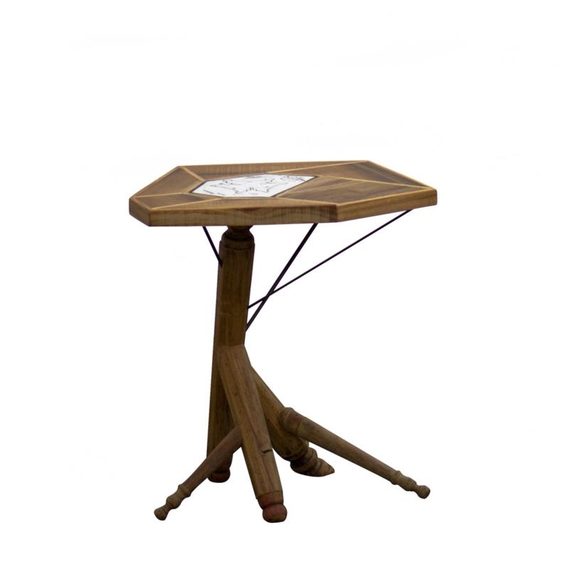 Hillsideout - Raku Tea Table IV