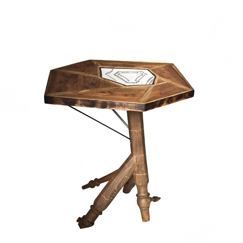 Hillsideout - Raku Tea Table V