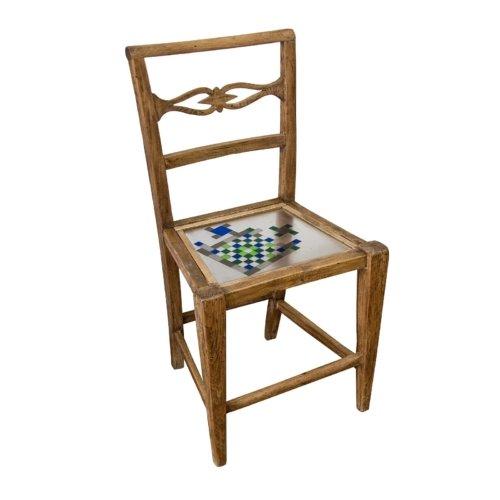 Hillsideout - Mosaiced Chair - Blue