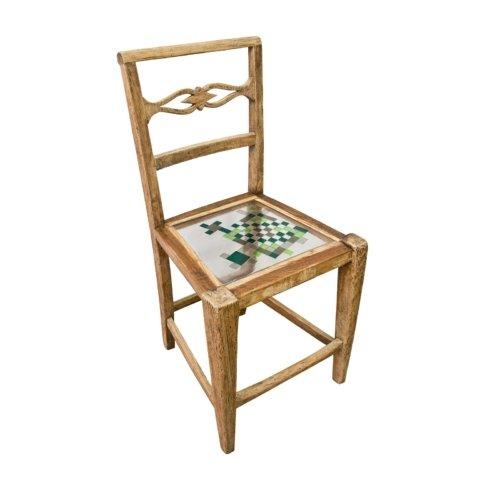 Hillsideout - Mosaiced Chair - Green