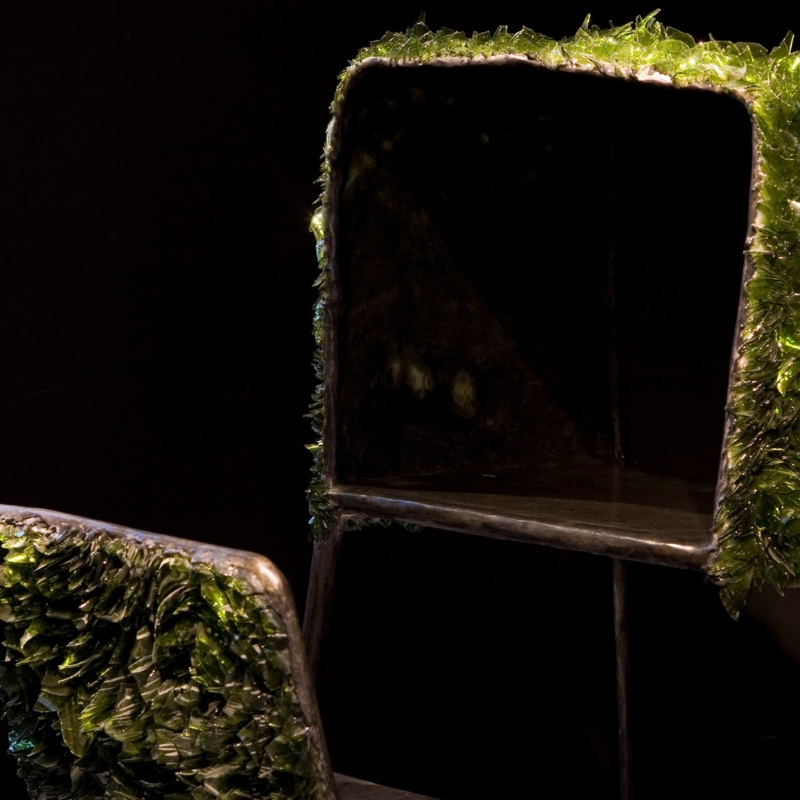Nacho Carbonell - Diversity N° 6 - Green Glass - Prototype