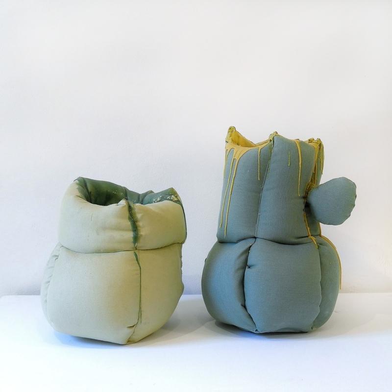 Nacho Carbonell - Fabric Vase - Sunbrella Edition