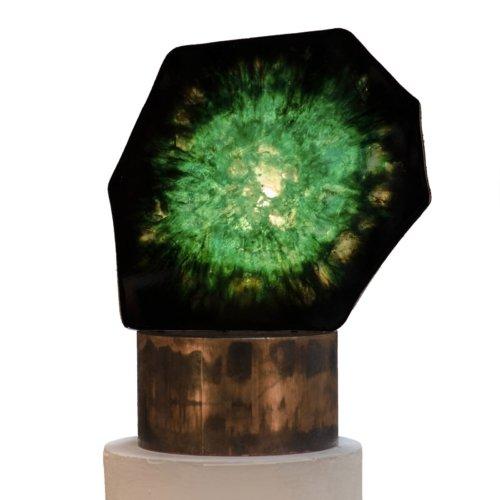 Von Pelt Atelier - Emerald Lamp