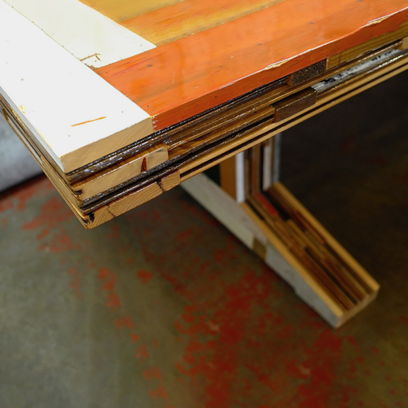 Piet Hein Eek - Waste Scrapwood Table