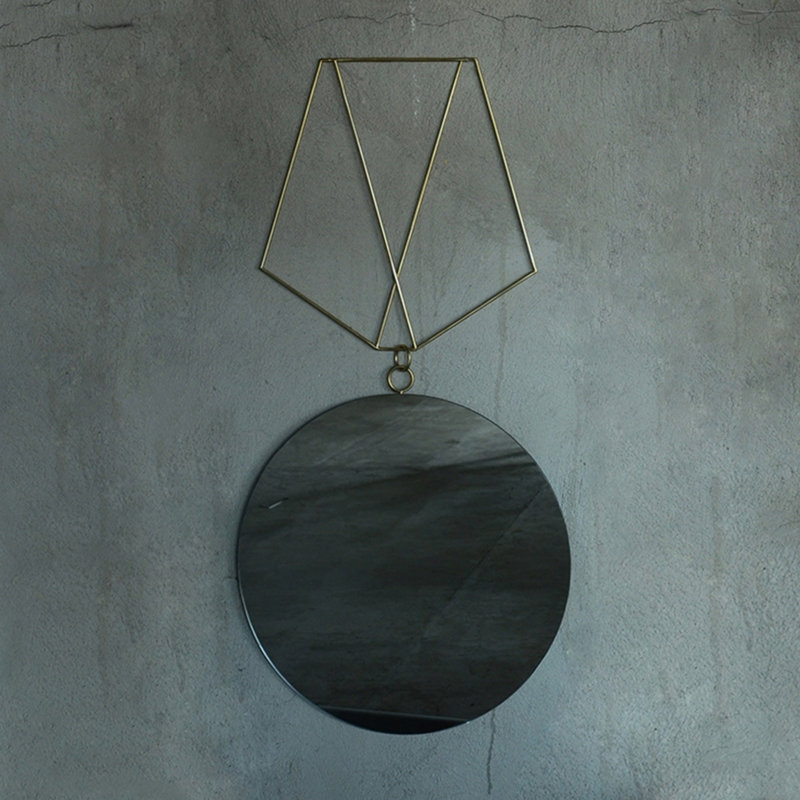Rooms - Medallion Mirror n1