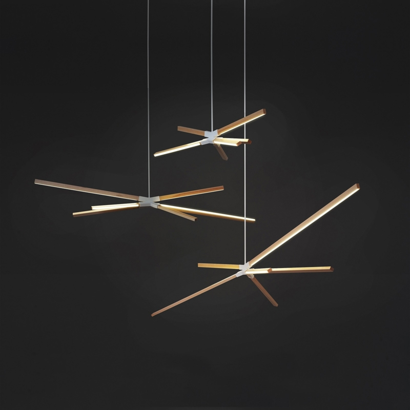 Rux - Stickbulb Sky Bang Chandelier Large