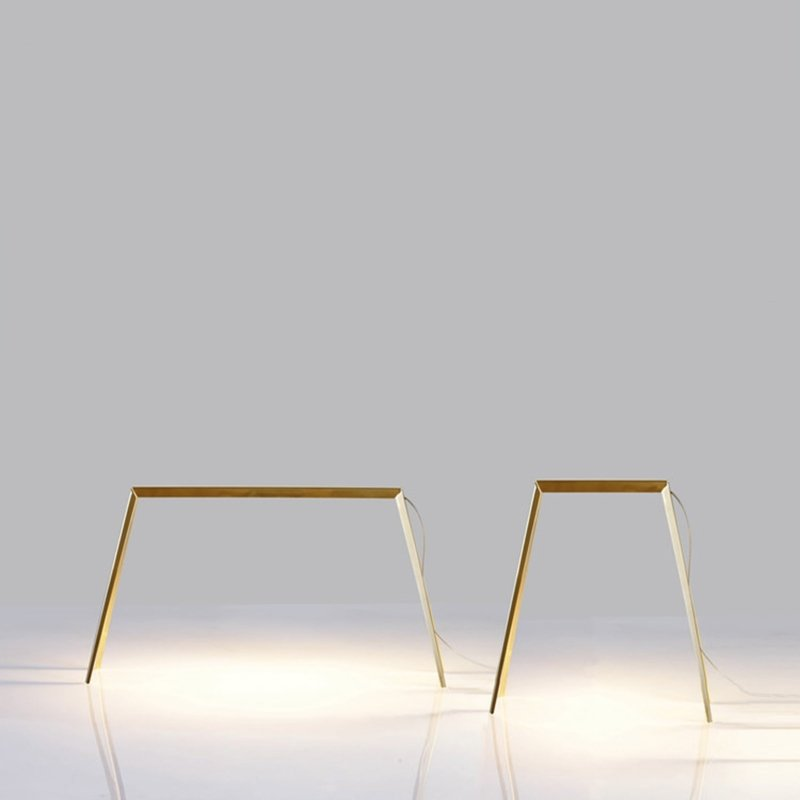 Francesco Meda - Bridge Lamp – Small – Brass