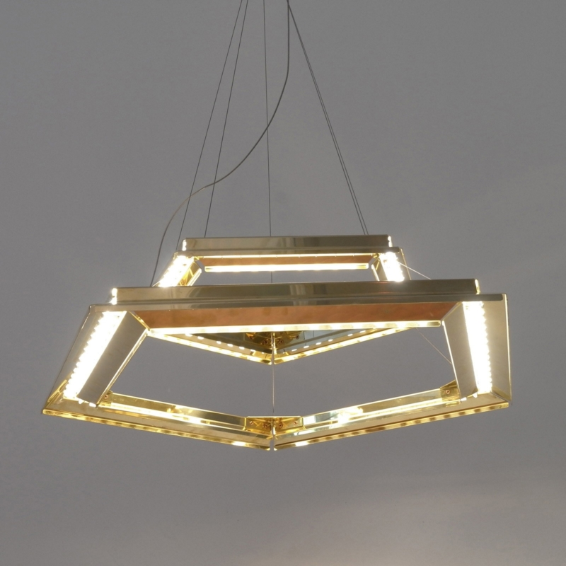 Francesco Meda - Poligona Lamp – Pentagonal