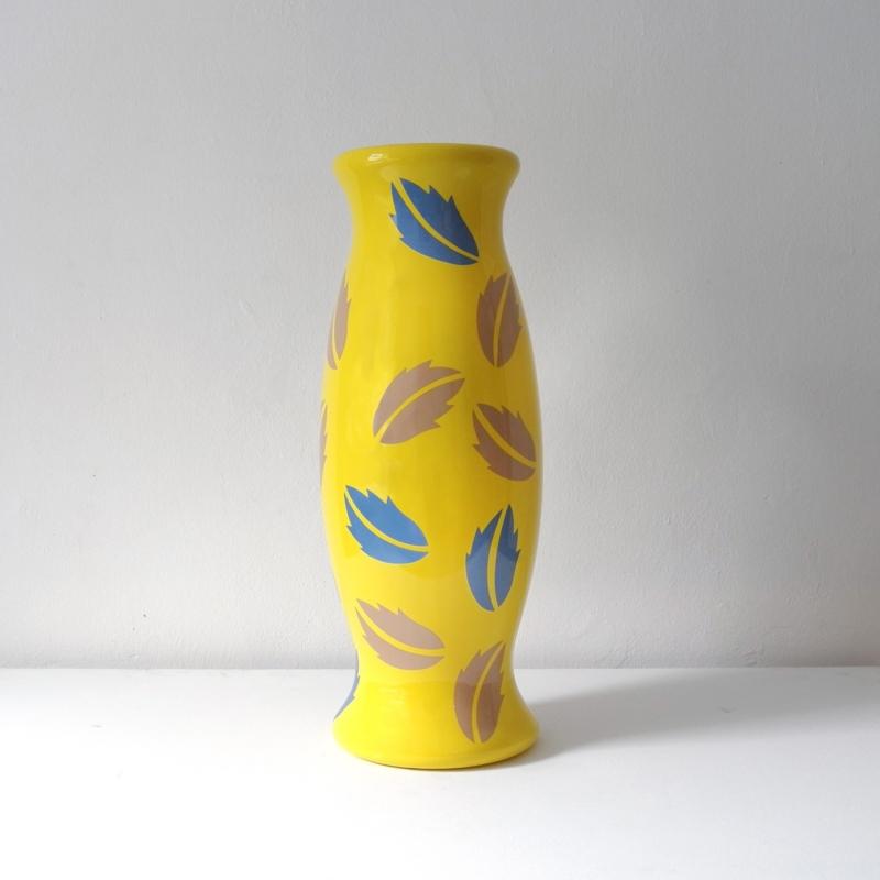 Alessandro Mendini - Diderot Vase - Yellow - Prototype