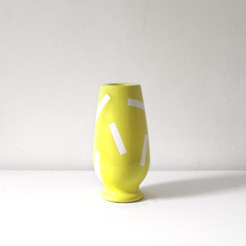 Alessandro Mendini - Pyrgi Vase - Yellow