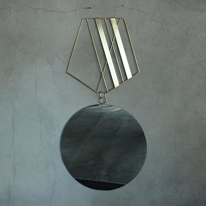 Rooms - Medallion Mirror n2