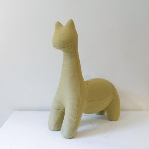 Nacho Carbonell - Yellow Soft Cat - Sunbrella Edition