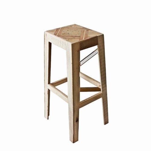 Hillsideout - Wooden Floor Stool