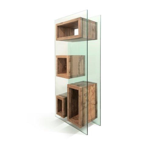Matteo Casalegno - Bookcase Volumi Sospesi M