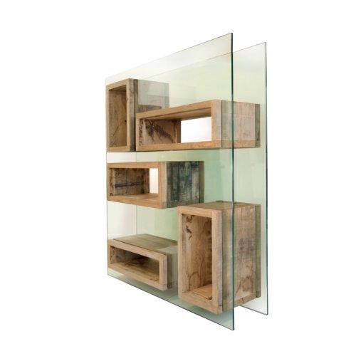 Matteo Casalegno - Bookcase Volumi Sospesi L