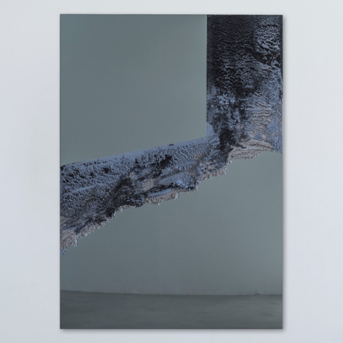 Fernando Mastrangelo - Untitled 02 – Black and Grey Drift Mirror 2