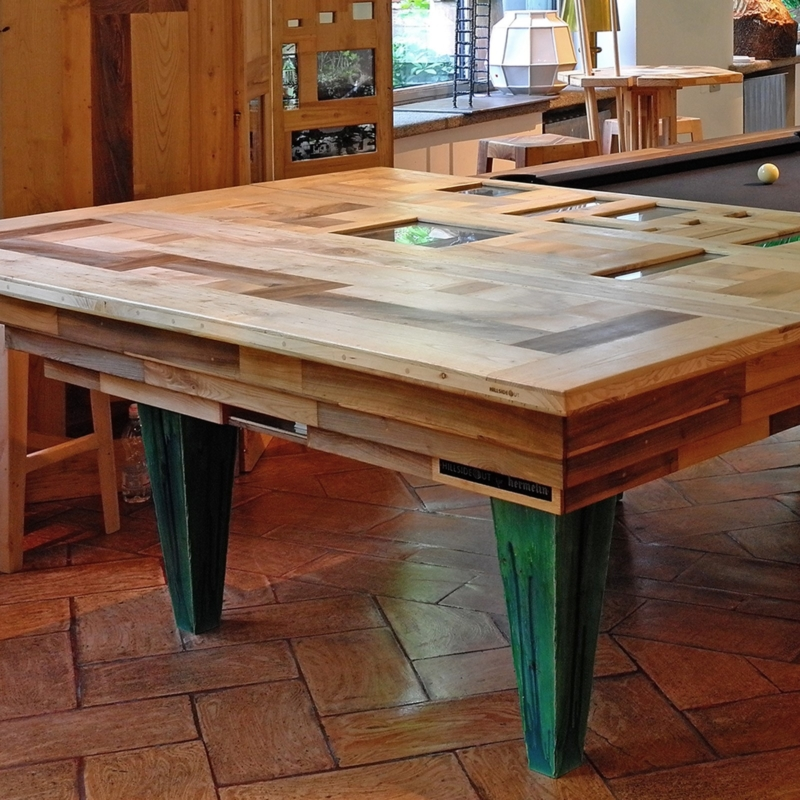 Hillsideout - American Pool Table CHAAC