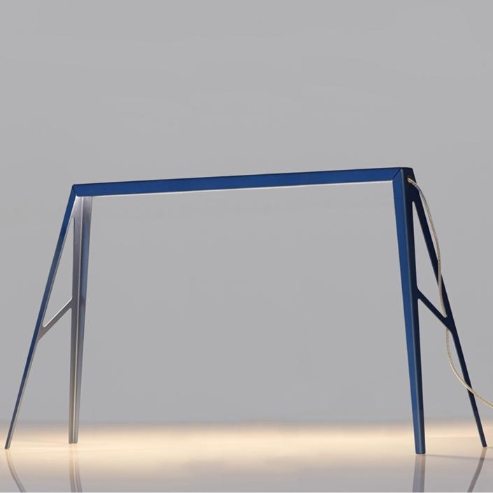Francesco Meda - Bridge Lamp – Large – Blue