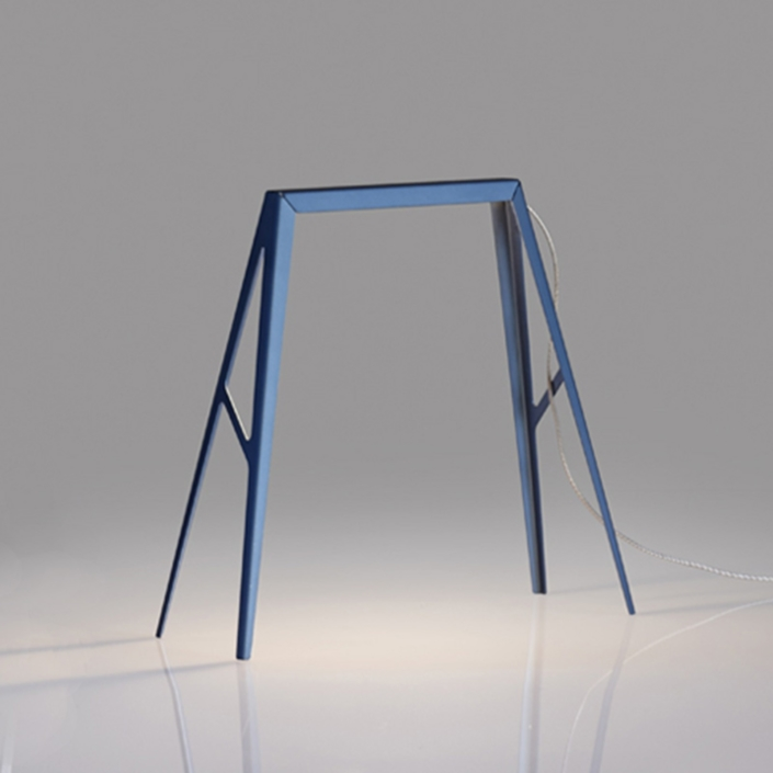 Francesco Meda - Bridge Lamp – Small – Blue