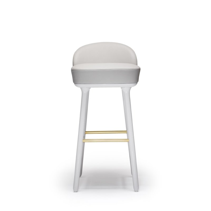 Jaime Hayon for Sé - Beetley Bar Stool - Beech Legs