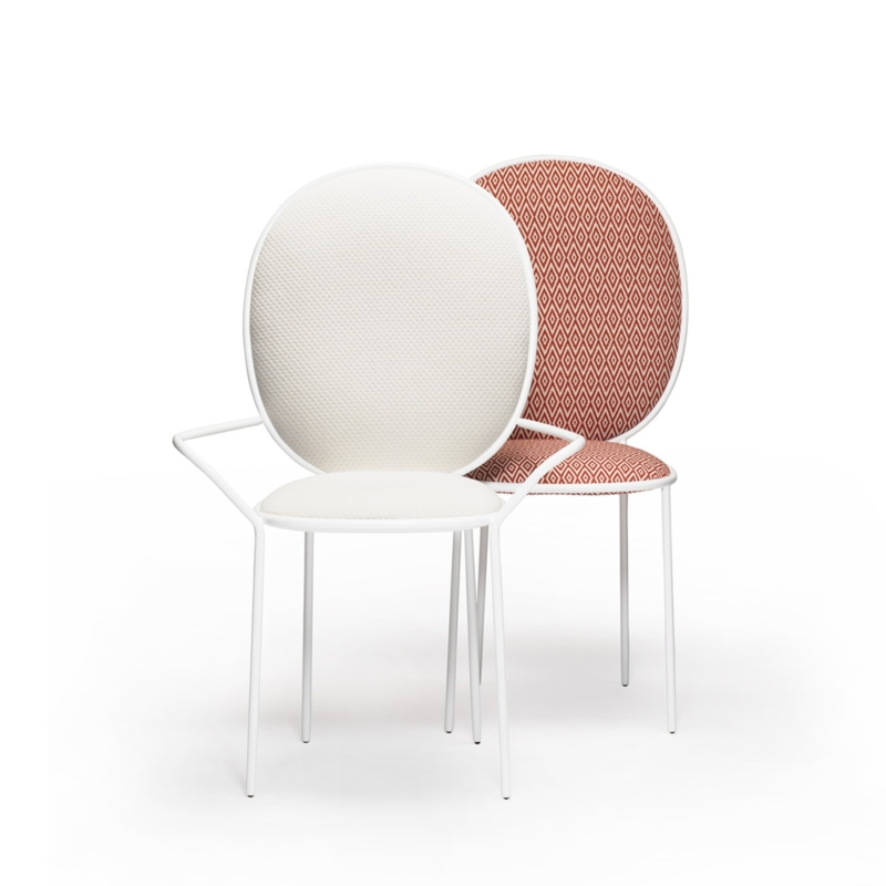 Nika Zupanc for Sé - Stay Dining Armchair and Chair - Outdoor