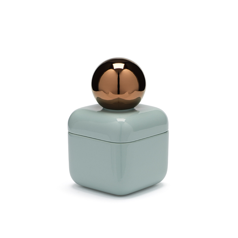 Nika Zupanc for Sé - Whisper Box – Petite - Glossy Vintage Green