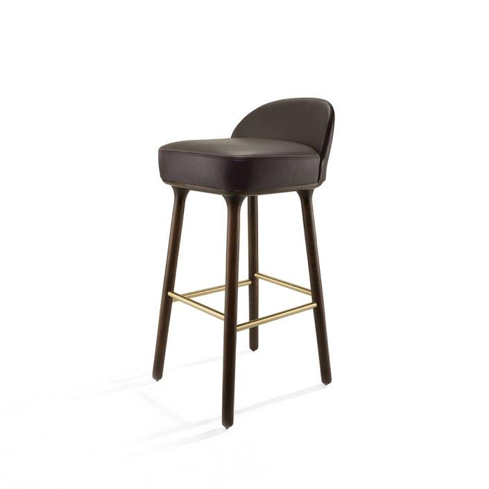 Jaime Hayon for Sé - Beetley Bar Stool - Oak Legs