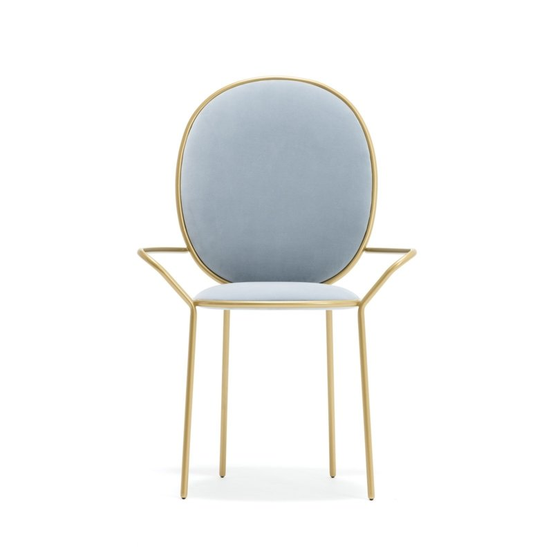 Nika Zupanc for Sé - Stay Dining Armchair – Pervenche