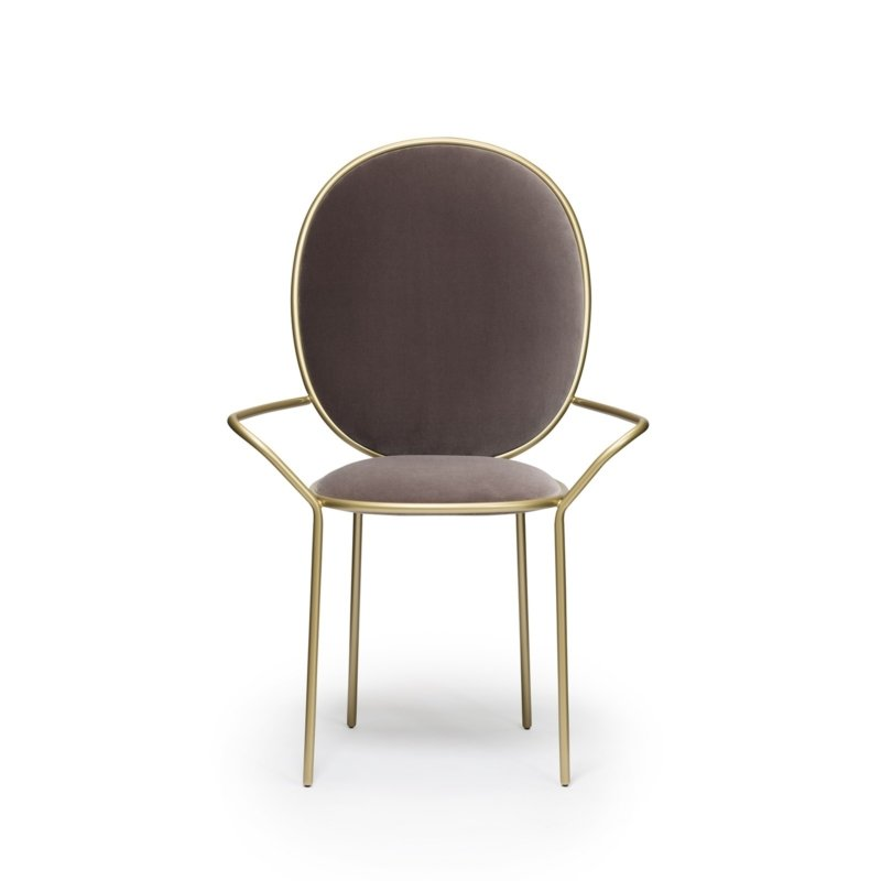 Nika Zupanc for Sé - Stay Dining Armchair – Taupe