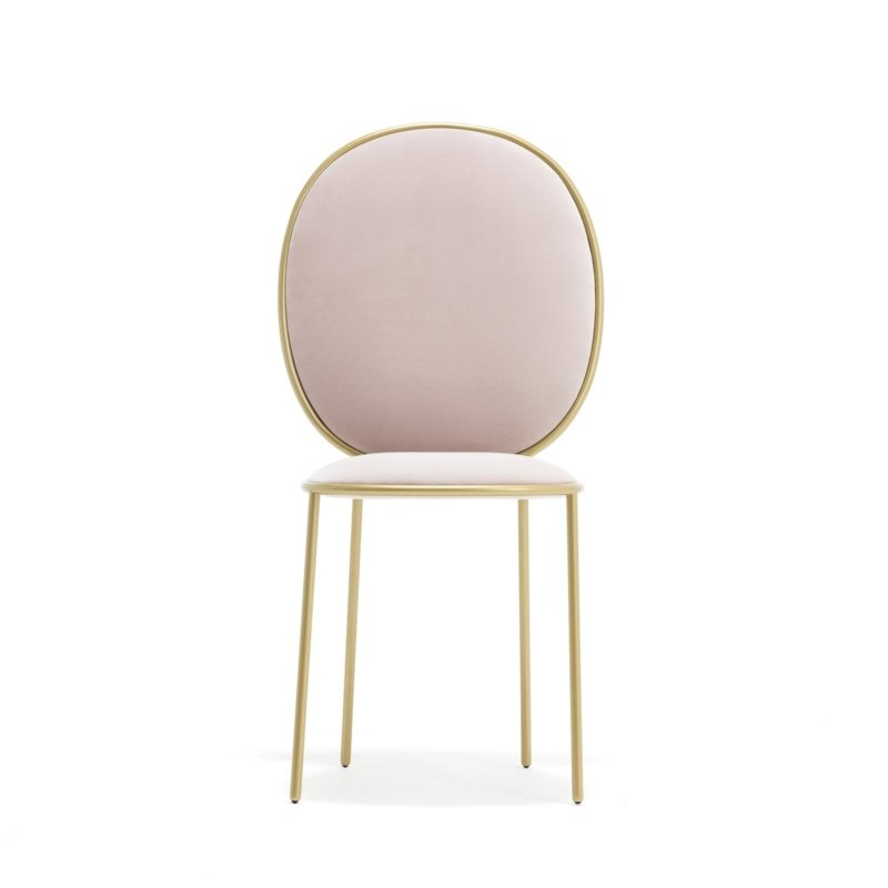 Nika Zupanc for Sé - Stay Dining Chair – Rose Thé