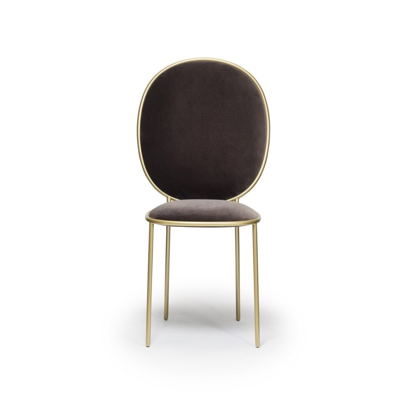 Nika Zupanc for Sé - Stay Dining Chair – Fumo