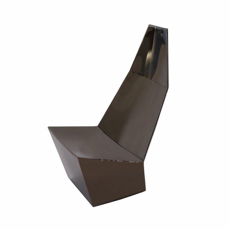Alexander Lotersztain - QTZ Lounge Chair – Maquette – Black