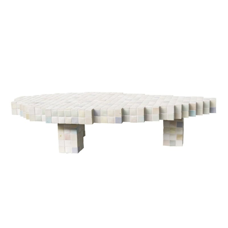 Piet Hein Eek - 40×40 Ceramic Coffee Table