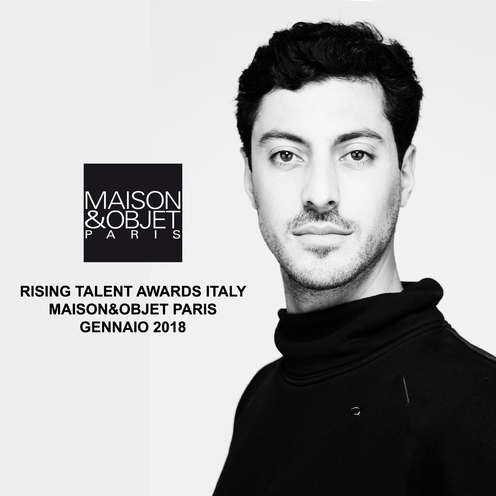 Guglielmo Poletti @ Rising Talent Awards Italy Maison&Objet Paris January 2018