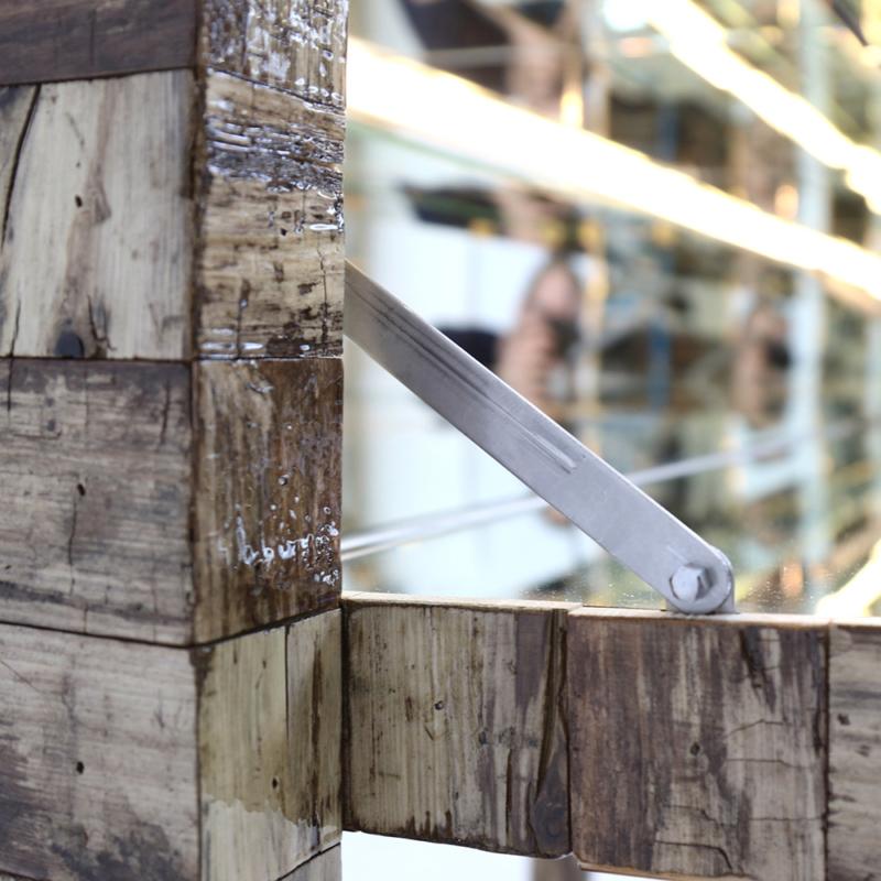 Piet Hein Eek - NYC Waste Mirror Liquor Cabinet
