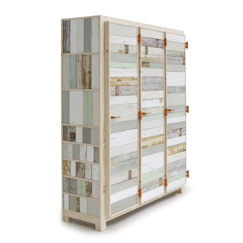Piet Hein Eek - 3-doors Cupboard in Scrapwood