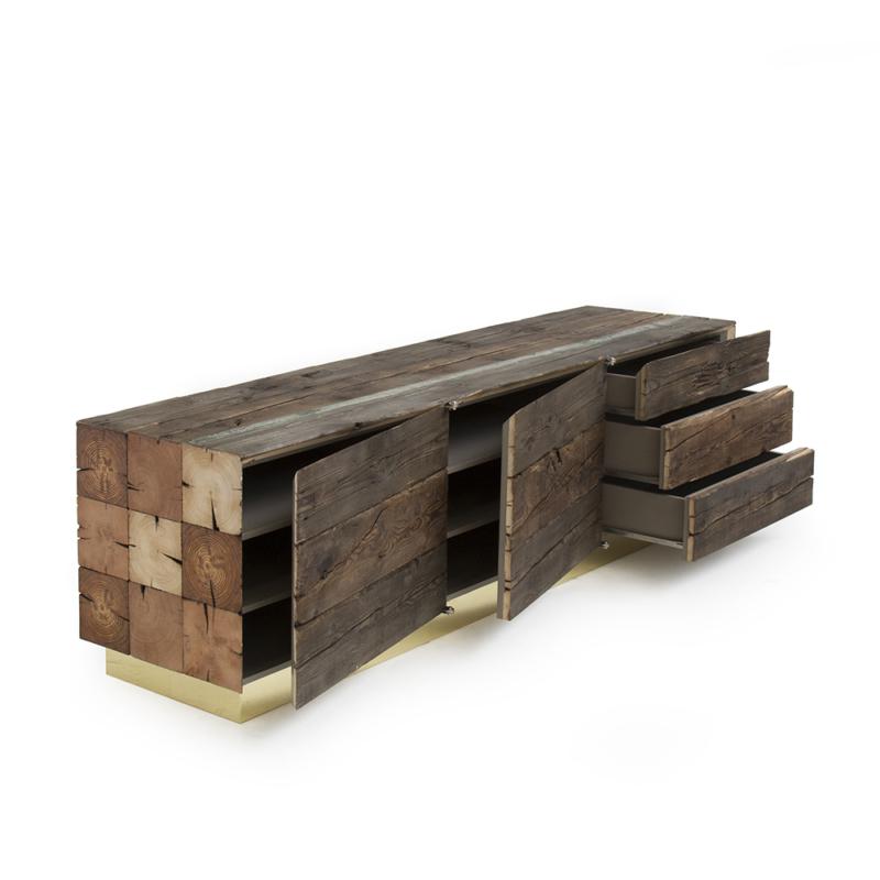 Piet Hein Eek - Enormous Beam Cabinet No. 2