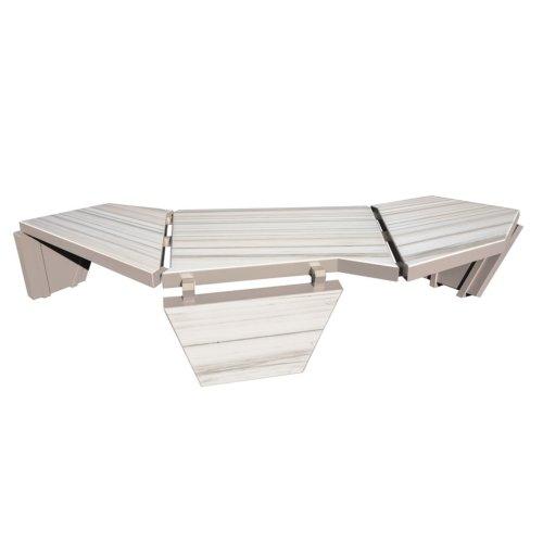 Enrico Marone Cinzano - Marble Stealth Table