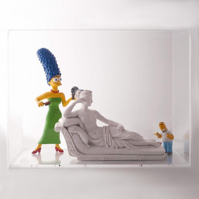G+G - Paolina Bonaparte (Marge Simpson)