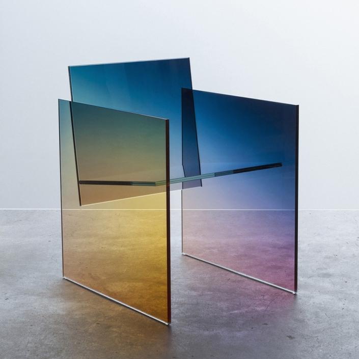 Germans Ermics - Ombré Glass Chair