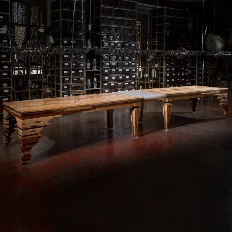 Hillsideout - Lines under the forest - Big Dining Table