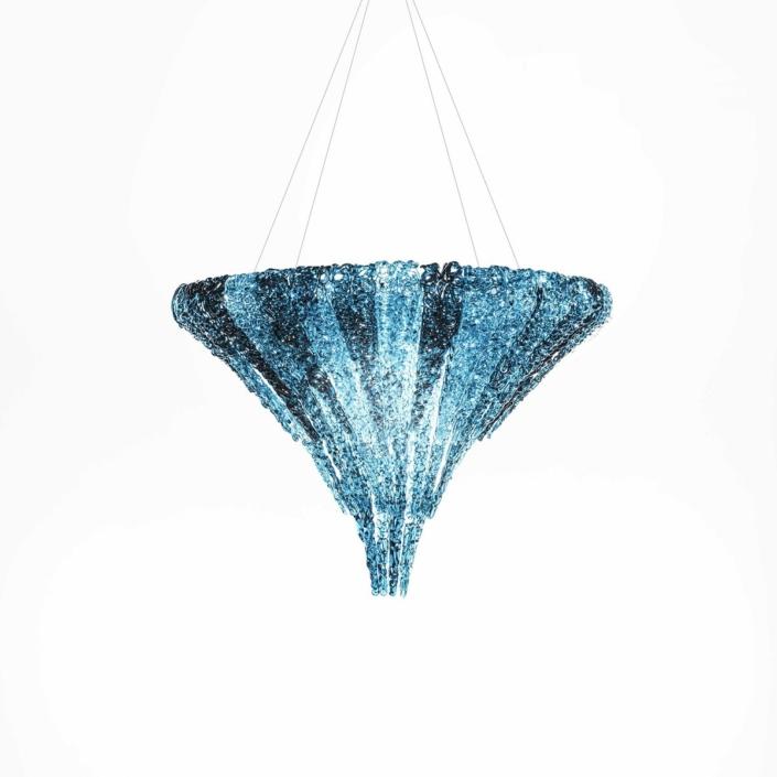 Jacopo Foggini - Vertigo chandelier blue