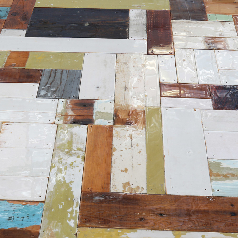 Piet Hein Eek - Waste Table in Scrapwood