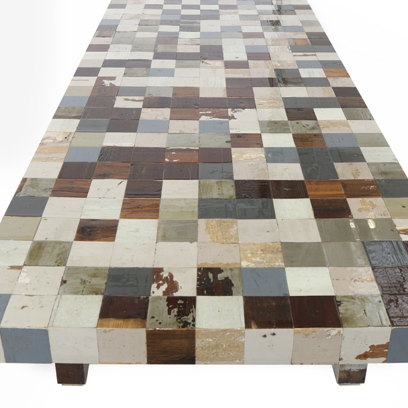 Piet Hein Eek - Waste Waste 85x85 Table