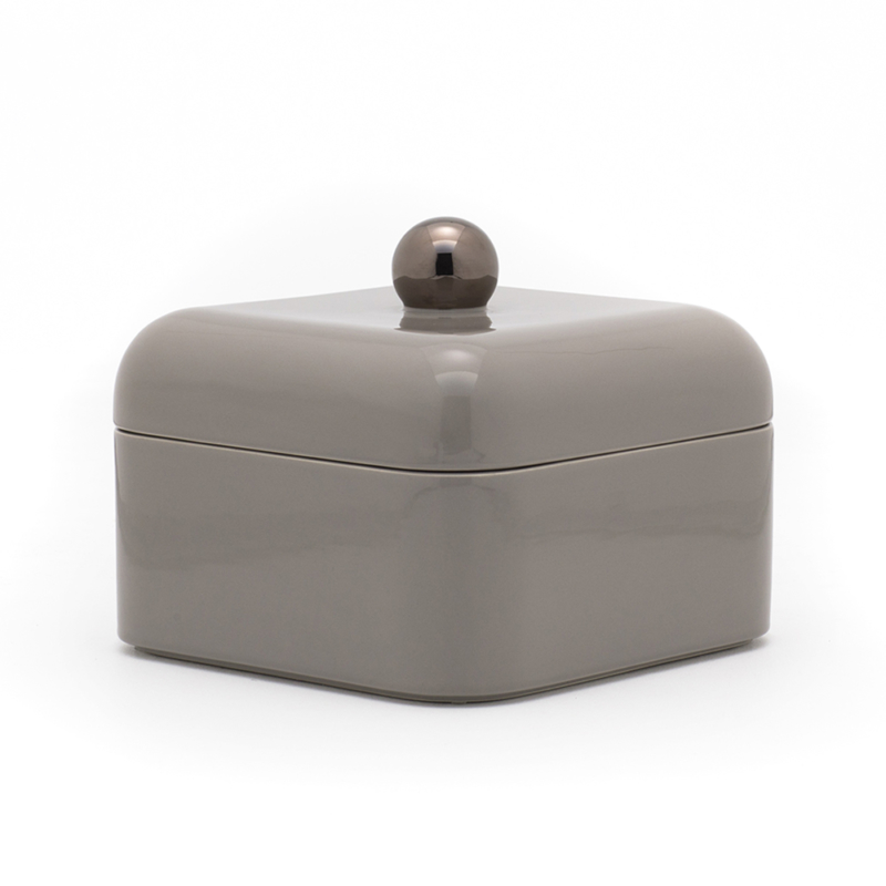 Nika Zupanc for Sé - Whisper Box - Grande - Glossy Warm Grey