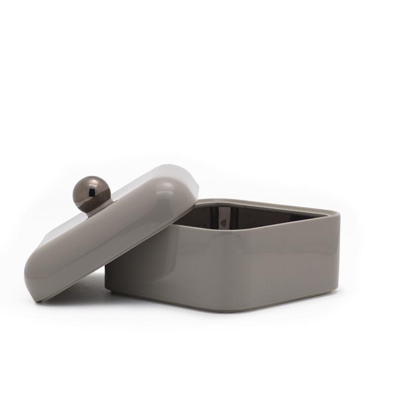 Nika Zupanc for Sé - Whisper Box - Grande - Glossy Warm Grey