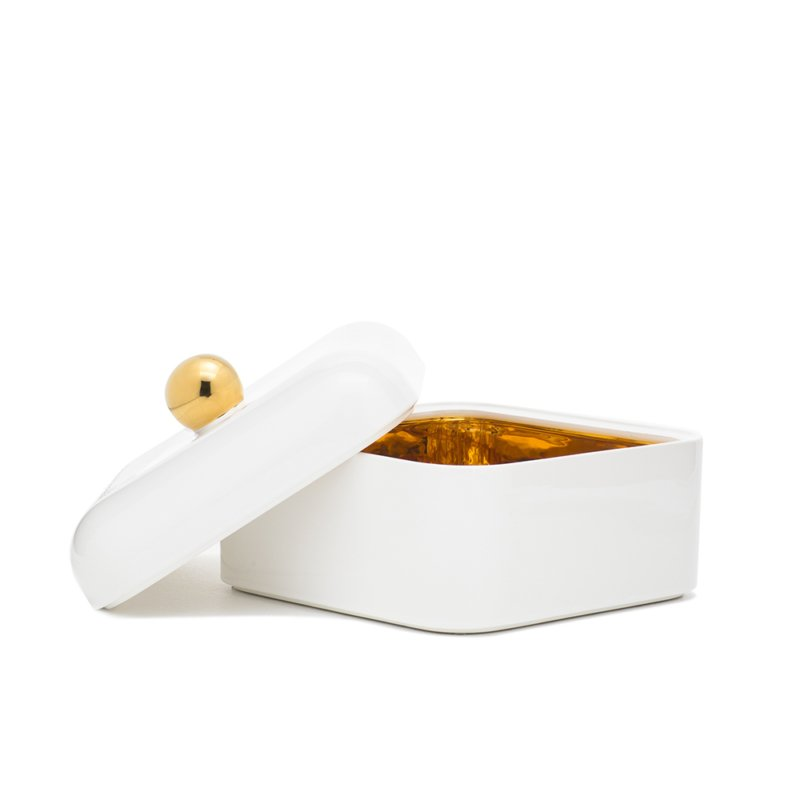 Nika Zupanc for Sé - Whisper Box - Grande - Glossy White