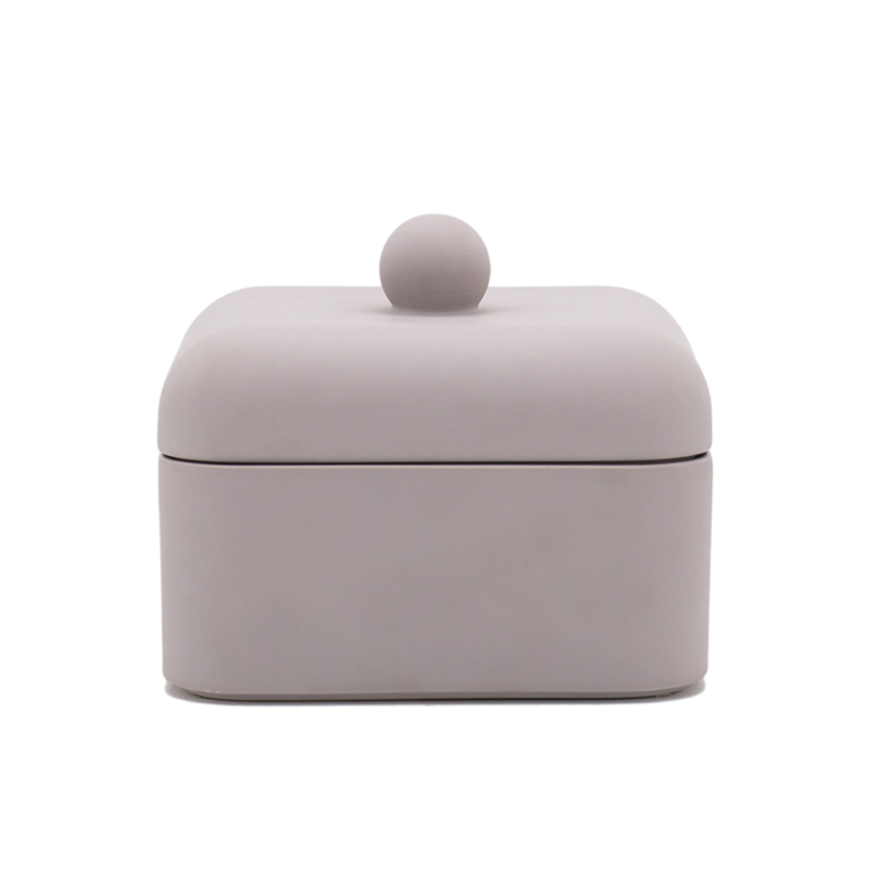 Nika Zupanc for Sé - Whisper Box - Grande - Satin Lilac Grey